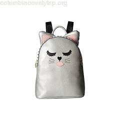 Luv Betsey LBMilla PVC Kitch Backpack w/ Cat Face & 3D Ears 8UIiXei5