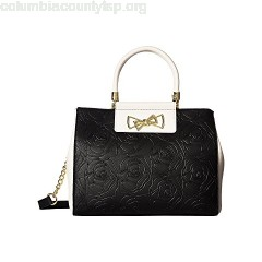 Betsey Johnson Top Handle Logo Satchel 81nn6beM