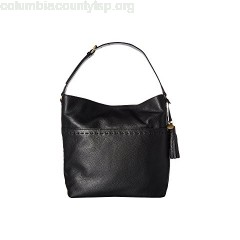 Cole Haan Ivy Pic Stitch Square Bucket Hobo XND7FNiL