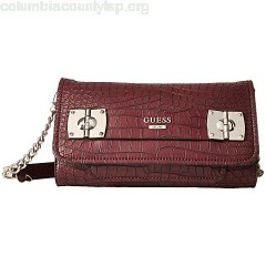GUESS Frankee Crossbody Clutch ChsTkhFw
