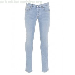 New collection IGGY SLIM STONEWASH JEANS BLEU CLAIR SANDRO MEN e7XKM3gE