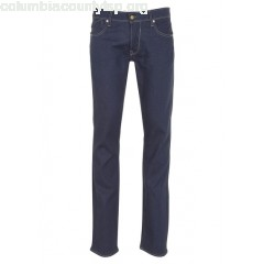 New collection SLIM-FIT COMFORT JEANS IN RECYCLED COTTON BLUE LE TEMPS DES CERISES MEN ekO4NNoQ