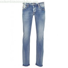 New collection SLIM-FIT JEANS BLUE LE TEMPS DES CERISES MEN eWtU7kcH