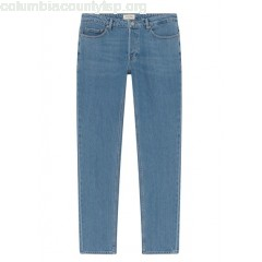 New collection SLIM-FIT JEANS MID BLUE AMERICAN VINTAGE MEN FoxQkXZU