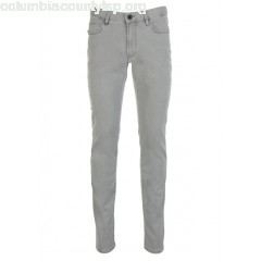 New collection SLIM-FIT STRETCH JEANS GRIS IKKS MEN nSvRPYLd