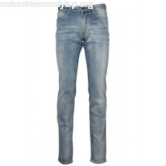 New collection SLIM-FIT STRETCH JEANS INDIGO IKKS MEN TTFAfLyf
