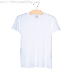 New collection LINEN T-SHIRT BLANC SANDRO MEN NSFb4LwC