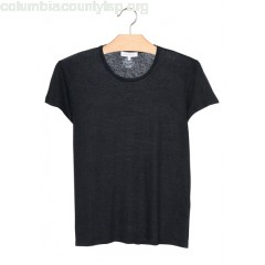 New collection LINEN T-SHIRT NOIR SANDRO MEN XiqiAo5u