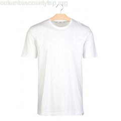 New collection PRINTED REGULAR-FIT COTTON T-SHIRT WITH ROUND NECK WHITE MINIMUM MEN TsHzZRJm