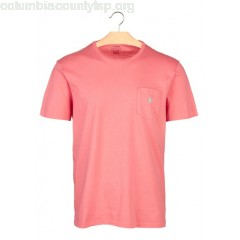 New collection REGULAR-FIT ROUND-NECK COTTON T-SHIRT HYANNIS RED POLO RALPH LAUREN MEN L94kqUKT