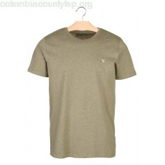 New collection REGULAR-FIT ROUND-NECK COTTON T-SHIRT VERT OLIVE CHIN CHEVIGNON MEN trrwZanU