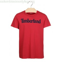 New collection REGULAR-FIT ROUND-NECK COTTON T-SHIRT WITH SCREEN PRINT TNGO RED LIN TIMBERLAND MEN 6G7ooA0d