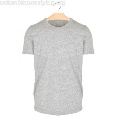 New collection REGULAR-FIT ROUND-NECK MARL COTTON T-SHIRT 137. GRIS JASPÉ MAJESTIC MEN NmnXCRXJ