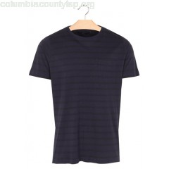 New collection REGULAR-FIT ROUND-NECK STRIPED COTTON T-SHIRT 3090 SUIT MEN LotScxUq