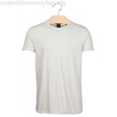 New collection REGULAR-FIT STRIPED COTTON T-SHIRT WITH ROUND NECK ECRU MELANGE SCOTCH AND SODA MEN IF8oVd8i