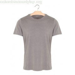 New collection ROUND-NECK REGULAR-FIT T-SHIRT 538. ARMY HAND DYED MAJESTIC MEN ww6LCdUU