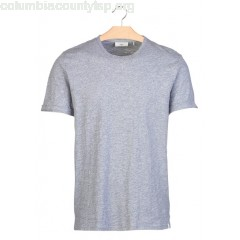 New collection ROUND-NECK T-SHIRT AIRFORCE BLUE MEL. MINIMUM MEN FtvDGiT1