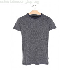 New collection ROUND-NECK WOVEN JACQUARD T-SHIRT 3090 SUIT MEN 74bzlJaG