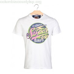 New collection SCREEN-PRINTED T-SHIRT OPTIC SUPERDRY MEN SJyCrY0A