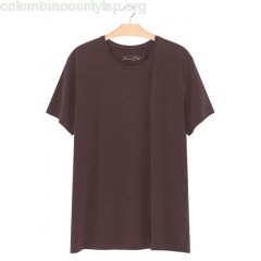 New collection SHORT-SLEEVED ROUND-NECK COTTON T-SHIRT GRIOTTE VINTAGE AMERICAN VINTAGE MEN iImV8AVP