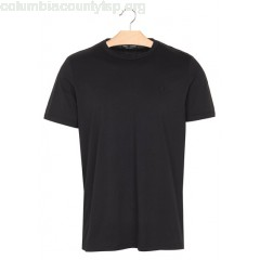 New collection SLIM-FIT ROUND-NECK COTTON T-SHIRT BLACK FRED PERRY MEN WIrqWS1y