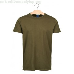 New collection SLIM-FIT ROUND-NECK COTTON T-SHIRT MILITARY SCOTCH AND SODA MEN dD9OAr8Y