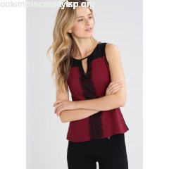 Anna Field Blouse black/bordeaux 74kmdLoj