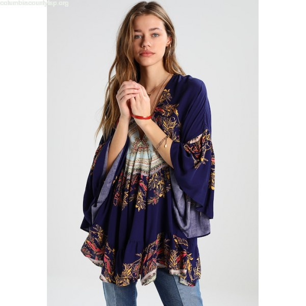 Free People SUNSET DREAMS PRINTED Tunic blue 59A0FqTp