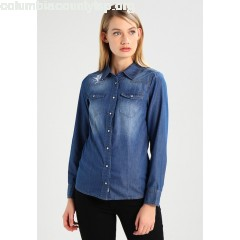 Herrlicher LILIEN Women's Shirt blue denim 7c2qT4ki