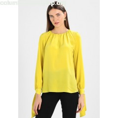 Marc O'Polo BLOUSE FEMININE LOOSE SHAPE BINDED Blouse lemon glaze K0fLfYij