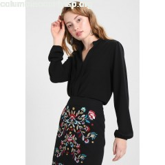 New Look FONDA FOLDBACK Blouse black mENLG1o4