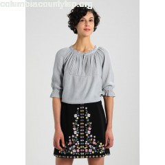 Soft Rebels HEY BUTTON Blouse grey bYa16SjD