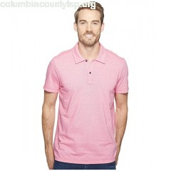 Agave Denim Short Sleeve Polo Italian Pique in Berry NG3ITLk0
