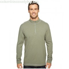 Ecoths Black Rock 3/4 Zip Shirt lyckTypr