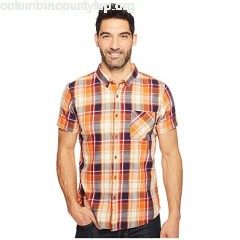 United By Blue Short Sleeve Springer Plaid Shirt Ic2VfdkR