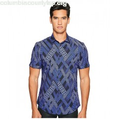 Versace Collection Short Sleeve Button Down ZVY6GLxC