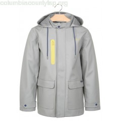 New collection ARMOR LUX X FAGUO STRAIGHT HOODED RAINCOAT GREY FAGUO ARMOR LUX MEN KXrbnBKI