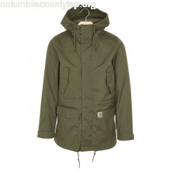 New collection BATTLE WATERPROOF PARKA WITH HOOD 62800-ROVER GREEN CARHARTT WIP MEN qUmNA9H1