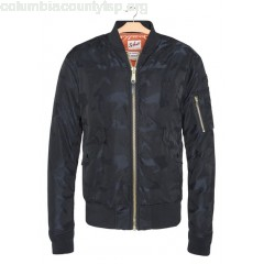 New collection CAMOUFLAGE BOMBER JACKET DARK NAVY SCHOTT MEN RO5PUQMV