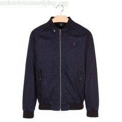 New collection CANVAS ZIPPED JACKET DENIM FAGUO MEN JgPukKzn