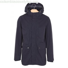 New collection COTTON-BLEND HOODED PARKA DARK NAVY SELECTED MEN IaS2Nmpv