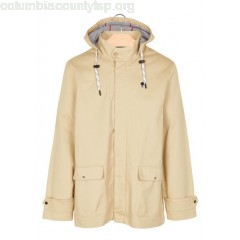 New collection COTTON PARKA WITH HOOD SAND FAGUO MEN t8LQvaEP
