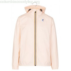 New collection HOODED JACKET PINK PEACH K.WAY MEN sPxzHWkG