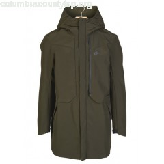 New collection HOODED JACKET SEQUOIA/BLACK NIKE MEN rU4adevu