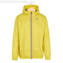 New collection HOODED JACKET YELLOW MUSTARD K.WAY MEN N8hjbjev