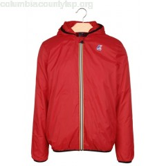 New collection LE VRAI 3.0 CLAUDE WARM PADDED JACKET WITH HOOD RED K.WAY MEN xfXkrVLy