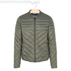 New collection LIGHT REGULAR PADDED JACKET KAKI IKKS MEN 3AVmijgt