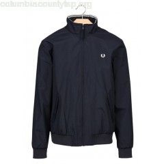 New collection NYLON JACKET NAVY FRED PERRY MEN OJoua1rV