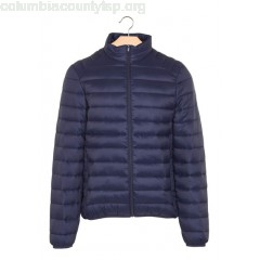 New collection SLIM LIGHT PADDED JACKET NAVY BEST MOUNTAIN MEN jG46W5FC