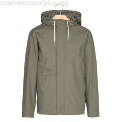 New collection WATERPROOF HOODED PARKA DRAB MINIMUM MEN y4CXCF0X
